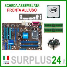 ASUS P5P41D + Intel Core™2 Quad Q8200 + 4GB RAM | Kit Scheda Madre 775 I/O#1959
