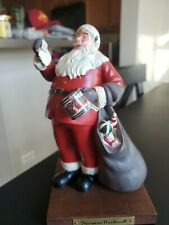 "Danbury Mint Santa Claus Collection Norman Rockwell ""A Drum For Tommy"" Figurine"
