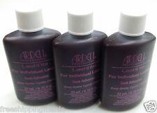 3LOT Ardell LashTite Adhesive INDIVIDUAL Eyelash Lash Eyelashes Glue DARK 0.75OZ