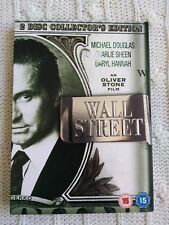 WALL STREET – DVD, 2-DISC COLLECTOR'S EDITION, R-2, NEW, FREE POST IN AUSTRALIA