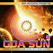 GOA SUN 9  Astral Sense, Shogan,  Total Strange, Insignia, DJ Moksha 2 CD NEU