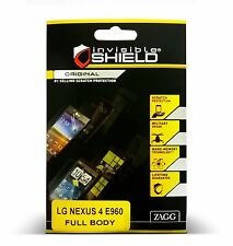 InvisibleShield for LG Nexus 4 E960 Full Body Protector Zagg