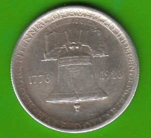 USA Half Dollar 1926 Independence Sesquicentennial Better Than XF nswleipzig