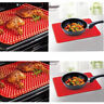Reusable Non-Stick Silicone BBQ Oven Cookie Roasting Baking Tool Pan Mat Kitchen