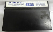 SEGA MASTER SYSTEM GAME -OLYMPIC GOLD - CARTRIDGE ONLY