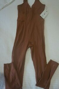 NIKE YOGA LUXE JUMPSUIT GYM SUIT - SIZE S