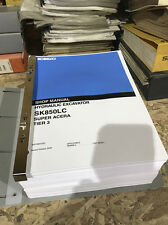 Kobelco SK850LC Super Acera Tier 3 Excavator Repair Shop Service Manual