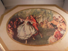 """Vintage Lover's Dance Party """"Romeo & Juliet Theme Song"""" Jewelry Music Box"""
