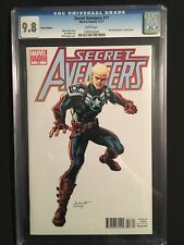 "SECRET AVENGERS 17 ""ARCHITECTS"" VARIANT COVER CGC 9.8"
