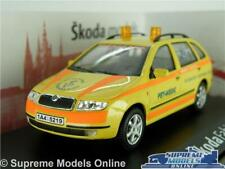 SKODA FABIA MODEL CAR PET MEDIC AMBULANCE 1:43 SCALE ABREX COMBI ESTATE VET K8