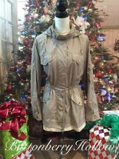 Polyester Trench Solid Coats & Jackets for Women