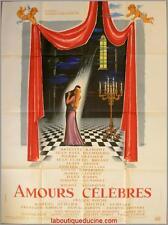 AMOURS CELEBRES Affiche Cinéma / Movie Poster 160x120 BELMONDO BRIGITTE BARDOT