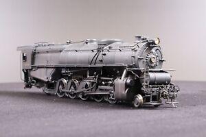 Westside Model Company HO Pennsylvania Railroad N-1S 2-10-2 Brass Model Loco