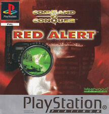 Command & Conquer: Red Alert -- Platinum (Sony PlayStation 1, 1997) - European Version