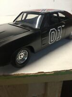 General Lee diecast 1:25 scale ERTL1969 Dukeboys Charger black Dukes of Hazzard