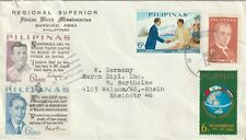 Philippines cover sent from Bangued,Abra to Walsum Germany