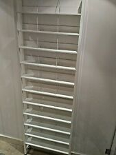 Steel CD Media Storage Shelving Unit - Display Quality / Immaculate Condition
