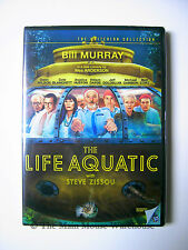 Wes Anderson The Life Aquatic with Steve Zissou DVD Bill Murray Anjelica Huston