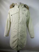 D7309 Women's THE NORTH FACE Fur Hooded Snowboard Ski Parka Jacket Size L