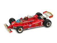 Ferrari 126C Prove Imola 1980 Gilles Villeneuve #2 + Pilota 1:43 2008-2 Model