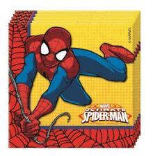 Artículos de fiesta de cumpleaños infantil de Spider-Man