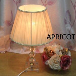 Fabric Box Pleat Drum Lampshades Table Light Pendant Ceiling Floor Modern Home