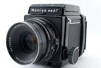"""EXC +5"" Mamiya RB67 Pro + Sekor NB 127mm f3.8 + 120 Film Back + Hood Japan 7250"