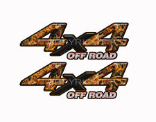 4X4 OFF ROAD BUCK BLAZE Obliteration Camo Decals Truck Stickers 2 Pack KM008ORBX