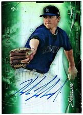 KYLE FREELAND - 2014 BOWMAN STERLING PROSPECTS GREEN REFRACTOR AUTOGRAPH RC