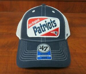 NFL New England Patriots Kids Woodlawn '47 MVP Adjustable Snapback Hat Cap NWT