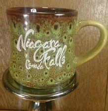 Niagara Falls Canada Coffee Mug Cup Green