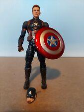 Marvel Legends CAPTAIN AMERICA Civil War 2 Pack,100% Complete, tight joints
