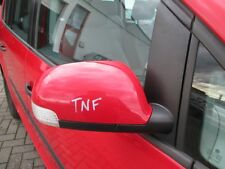 el. Außenspiegel rechts VW Touran tornadorot LY3D Spiegel Blinker rot