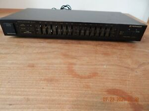 Pioneer GR-470 Home Audio Graphic Equalizer 7-Band Linear Control ~ Tested