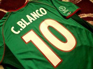 Jersey mexico atletica 2002 Cuauhtemoc Blanco (L) copa mundial 2002 vintage