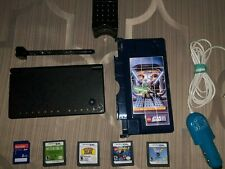Pokemon Black & White Zekrom/Reshiram DSi With 4 Games 2GB Cases,Charger & MORE