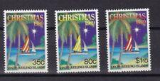 Cocos Islands 1989 Natale 207-9 MHN