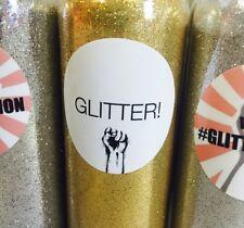 Oro brillo Biodegradable 70g Botella glitterlution Navidad Decoración & Maquillaje