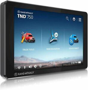 Rand McNally TND750 TND 750 Truck GPS