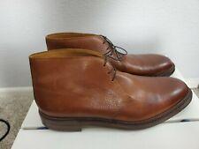 EXCELLENT Crockett & Jones CHEPSTOW Brown Chukka Pebble Shoes size 13 D perfect!