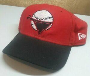 Vintage New Era Quad City Bandits Snapback Hat Minor League Baseball *RARE FIND*