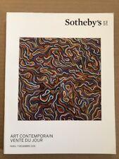 Sotheby`s ART CONTEMPORAIN VENTE DU JOUR, Paris 7 Decembre 2016