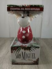 San Miguel Holiday Reindeer Sugar Cookie Scented Reed Oil Diffuser