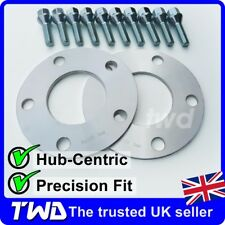 HUB-CENTRIC WHEEL SPACER KIT FOR BMW 5mm/10mm (5x120 PCD / 72.6) ALLOY [SP03]