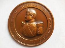 placca/lamina Ferdinando II re delle 2 Sicilie inc Ciccarelli 75mm