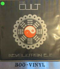 "THE CULT Revolution 1985 UK 4-track 12"" EP Vinyl Single NR MINT CON"