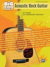 The Big Easy Book of Acoustic Guitar Sheet Music 67 Songs by 38 Legend 000322178