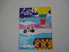 advertising Pubblicità 1979 MOTO LEM MOTOR