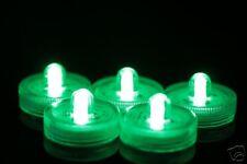 100 GREEN SUBMERSIBLE LED GARDEN LIGHTS SAFE AROUND CHILDREN FREE P&P & PETS