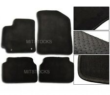 FIT FOR 2007 - 2011 TOYOTA COROLLA BLACK NYLON CARPET FLOOR MATS 4 PCS NEW